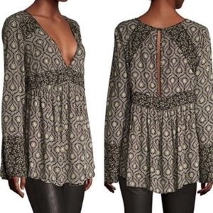 FREE PEOPLE Rolling Hills Tunic Size M